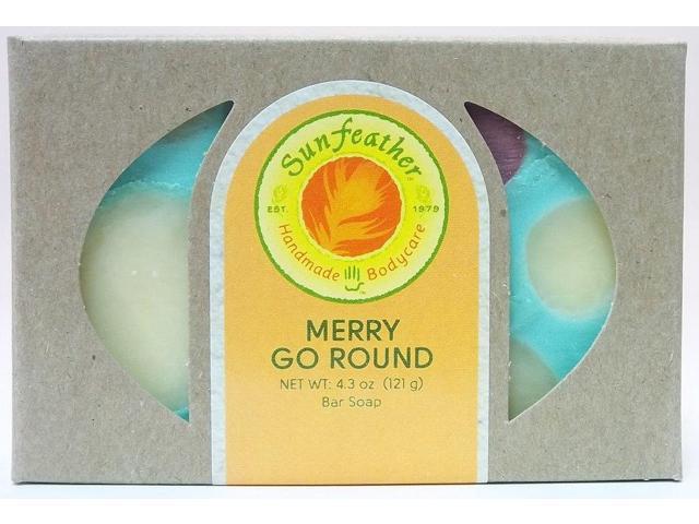 Merry Go Round Soap - Sunfeather - 4.3 oz - Bar Soap