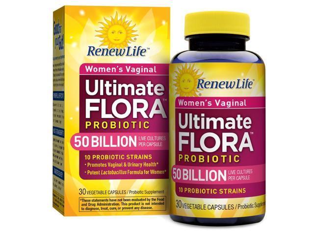 Ultimate Flora Vaginal Support 50 Billion - Renew Life - 30 - VegCap
