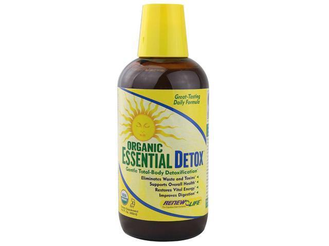 Organic Essential Detox - Renew Life - 16.2 oz - Liquid