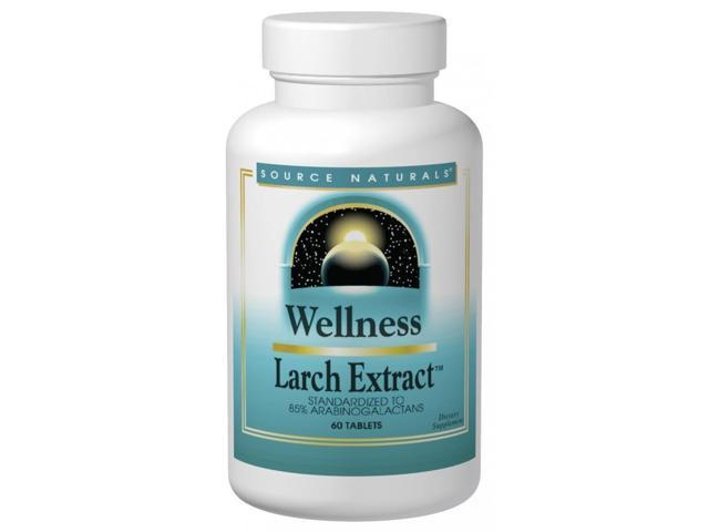 Wellness Larch Extract - Source Naturals, Inc. - 60 - Tablet