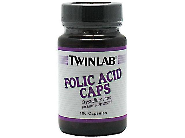Folic Acid 800mcg - Twinlab, Inc - 100 - Capsule