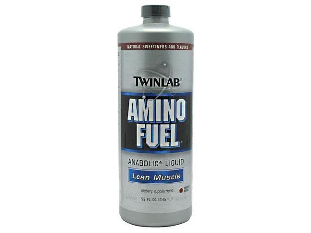 Amino Fuel Liquid Cherry - Twinlab, Inc - 32 oz - Liquid