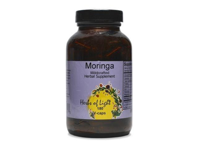 Moringa Botanical Multi-Vitamin 400mg - Herbs of Light - 180 - VegCap
