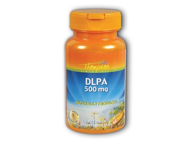 DLPA 500mg - Thompson - 60 - VegCap