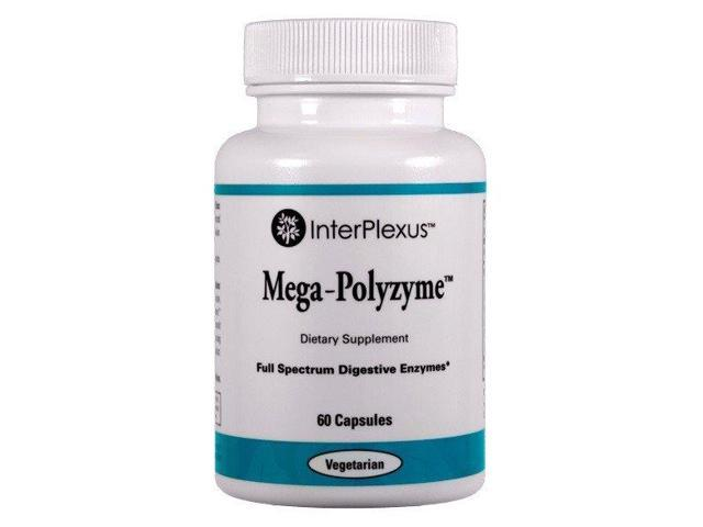 Mega-Polyzyme - InterPlexus Inc. - 60 - Capsule