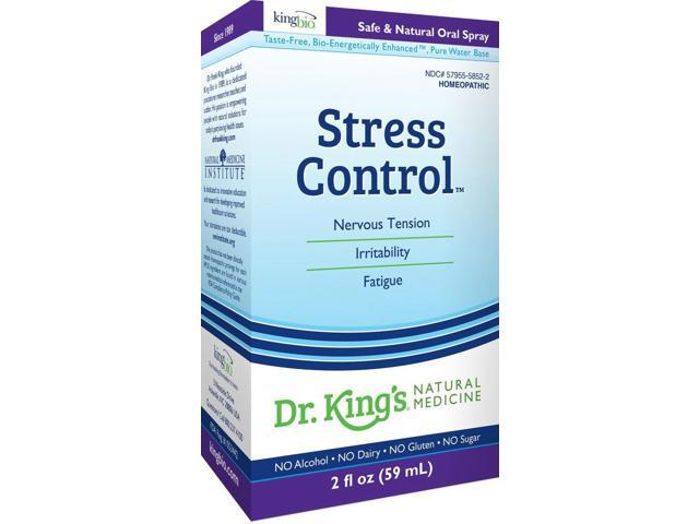 Stress Control - Dr King Natural Medicine - 2 oz - Liquid