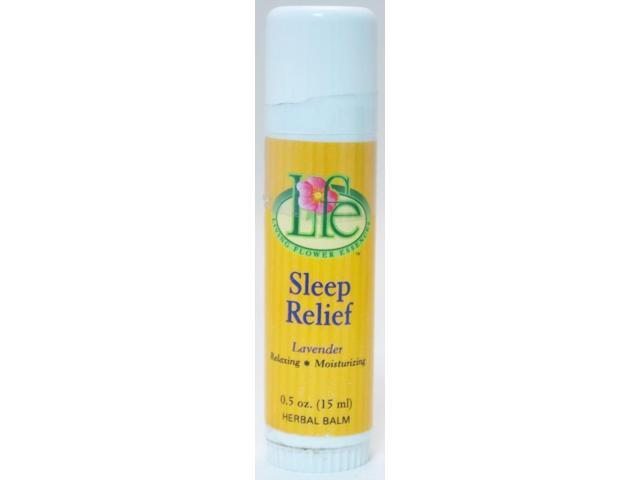 Sleep Relief Balm-Lavender - Living Flower - 0.5 oz - Stick