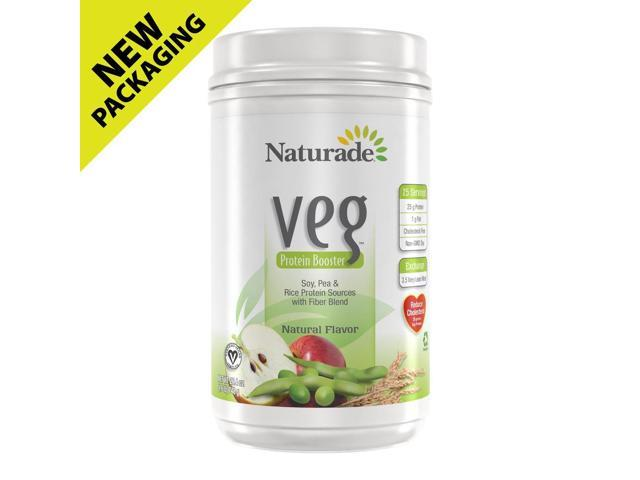 Vege Protein Booster-Natural Flavor - Naturade Products - 15 oz - Powder