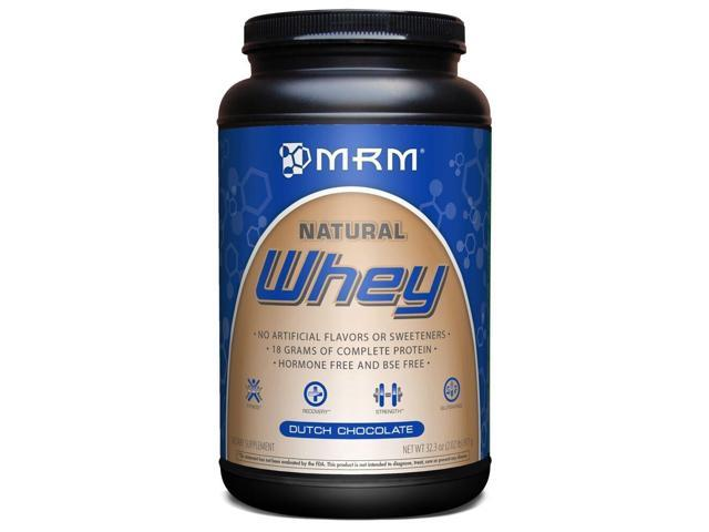 All Natural Whey - Dutch Chocolate - MRM (Metabolic Response Modifiers) - 2.2 lbs - Powder
