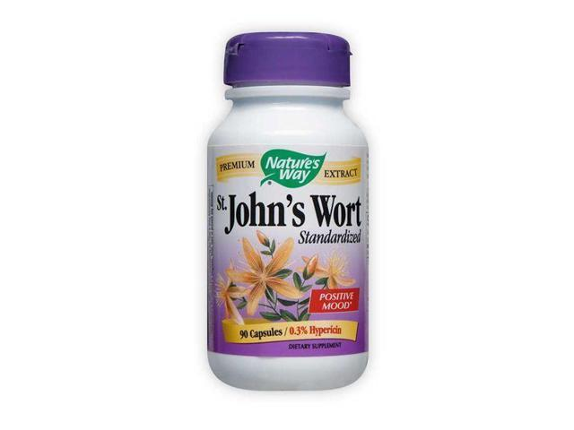 St. Johns Wort Standardized Extract - Nature's Way - 90 - Capsule