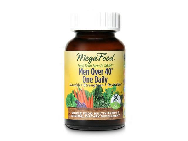 Men Over 40 One Daily - MegaFood - 30 - Tablet