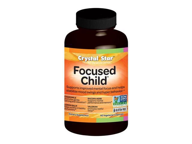 Focused Child - Crystal Star - 60 - Capsule