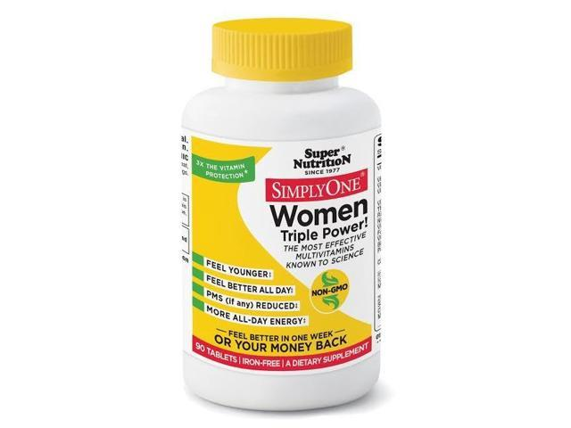 Simply One Women Iron Free - Super Nutrition - 90 - Tablet