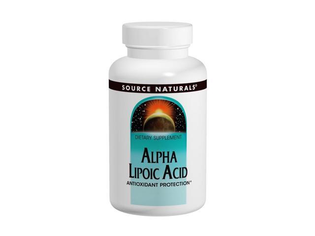 Alpha Lipoic Acid 300mg Time Release - Source Naturals, Inc. - 30 - Tablet