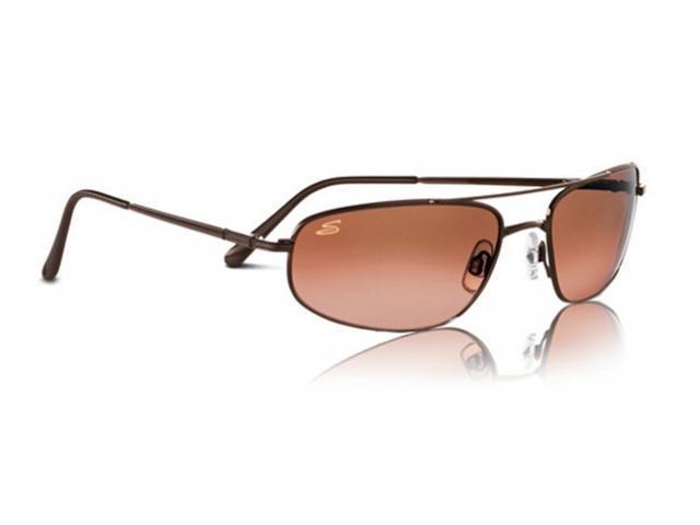 Serengeti Velocity Titanium Sunglasses - Espresso Frame, Drivers Gradient Lenses