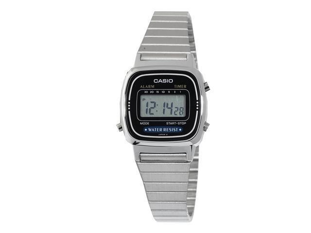 casio la670wa 1 s metal band countdown timer alarm