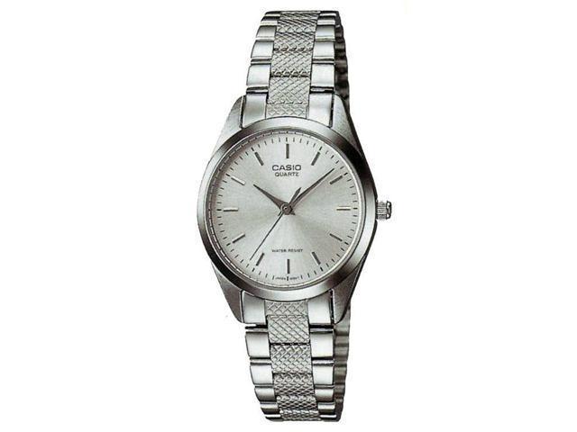 Casio #LTP1274D-7A Women's Metal Fashion Silver Dial Analog Watch