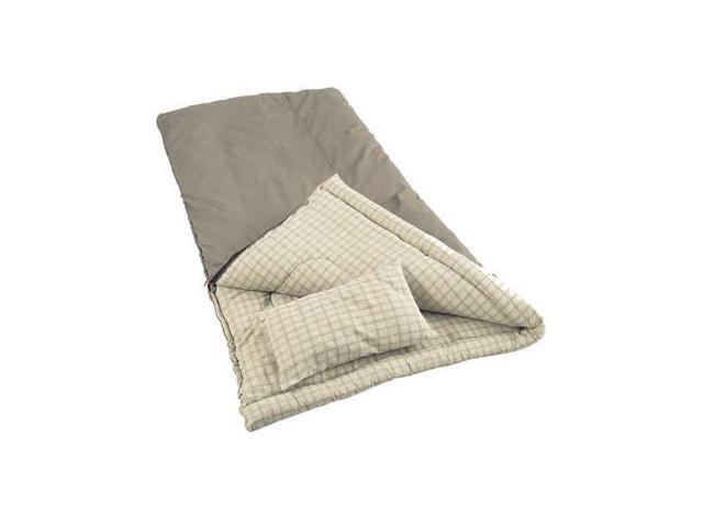"Coleman Big Game 84"" x 40"" Rectangle Sleeping Bag Grey 2000000100"