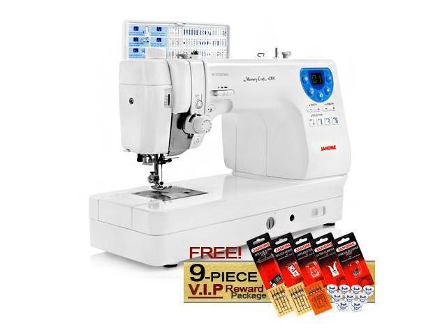 Janome Memory Craft 6300 Computerized Sewing Machine w/ FREE! 9-Piece V.I.P Reward Package