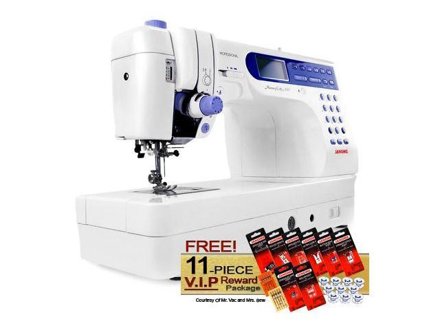 Janome Memory Craft 6500P Computerized Sewing Machine w/ FREE! 11-Piece V.I.P Reward Package