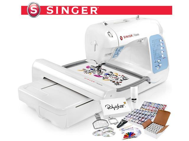 singer computerized embroidery sewing machine