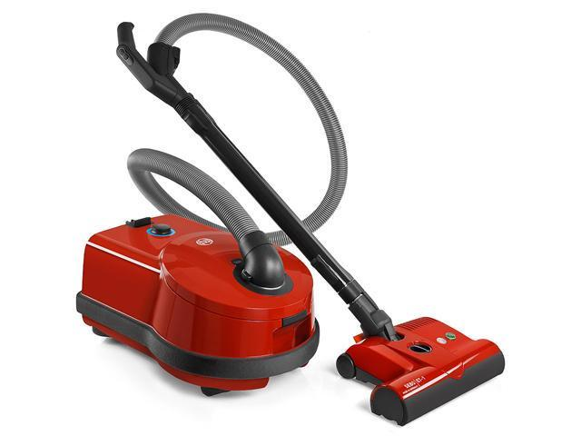 Sebo D4 Airbelt Red Canister Vacuum Cleaner with ET-1 Powerhead
