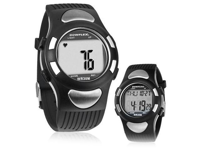 Bowflex EZ-Pro Strapless Heart Rate Monitor Watch - Black