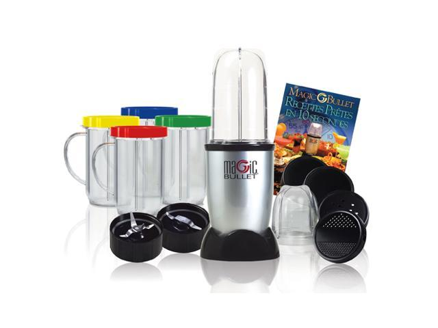 Magic Bullet 17-Piece Express Mixing Set with Recipe Book
