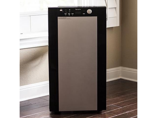 EdgeStar Extreme Cool 14,000 BTU Dual Hose Portable Air Conditioner & Heater - Black