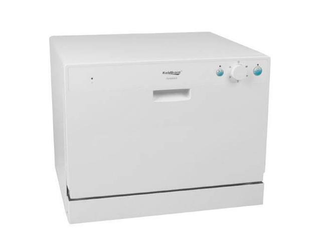 Koldfront 6 Place Setting Countertop Dishwasher (White)