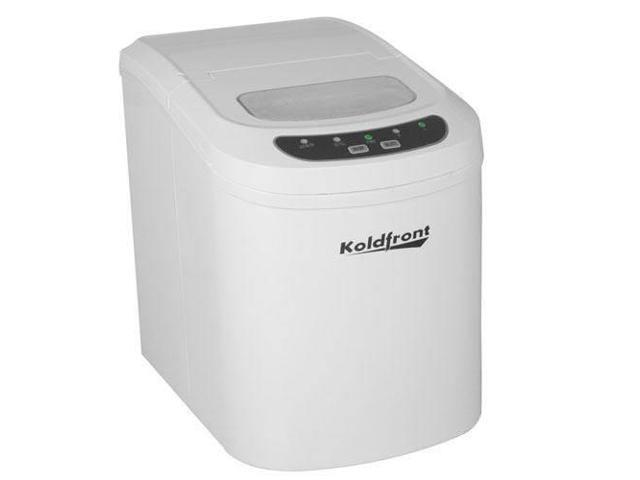 Koldfront Ultra Compact Portable Ice Maker - White