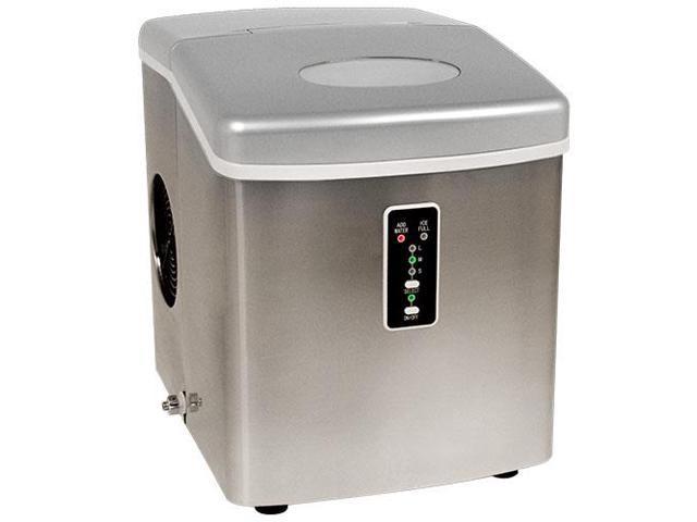 EdgeStar Portable Ice Maker - Stainless Steel