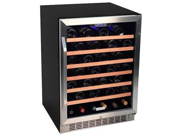 Edgestar 53 Bottle Built In Wine Cooler Stainless Steel