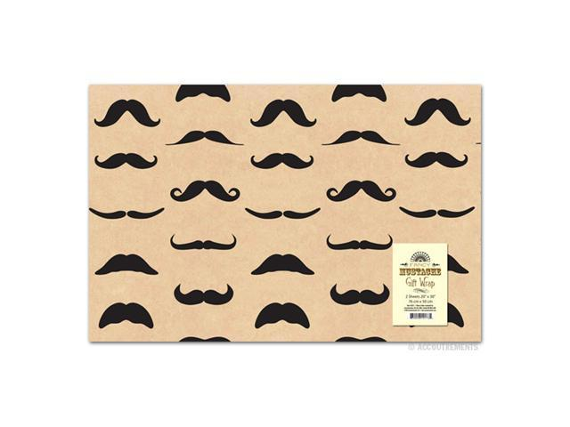 Accoutrements Mustache Gift Wrap