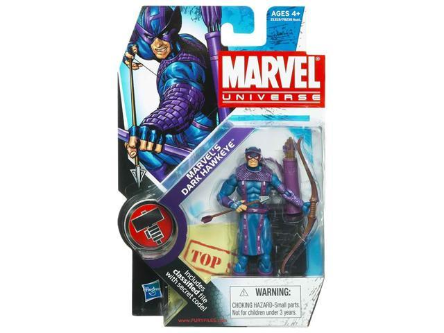 Marvel Universe Series 2 Dark Hawkeye #031