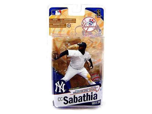 Mcfarlane MLB Series 26 C.C. Sabathia New York Yankees Pinstripe Jersey