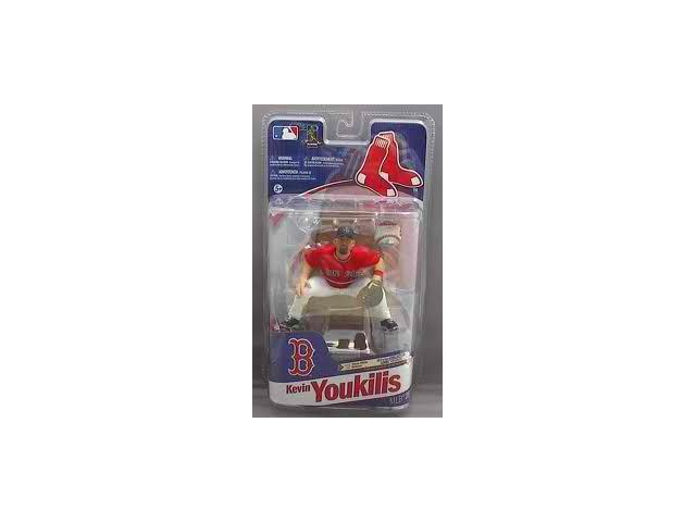 Mcfarlane MLB Series 28 Kevin Youkilis Boston Red Sox Red Jersey