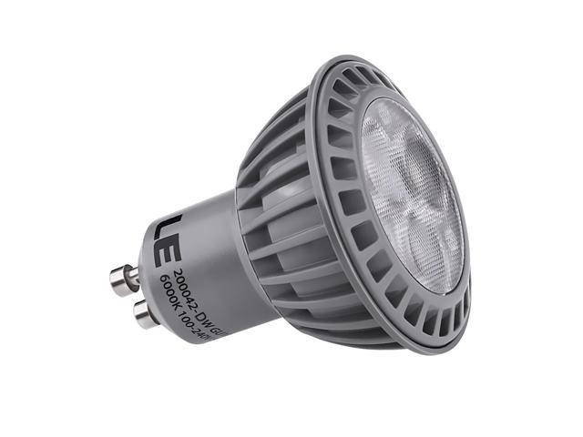 LE® 5W GU10 350ml LED Bulbs, 50W Equivalent, Perfect Standard Size, Daylight White, Recessed Lighting, Track Lighting