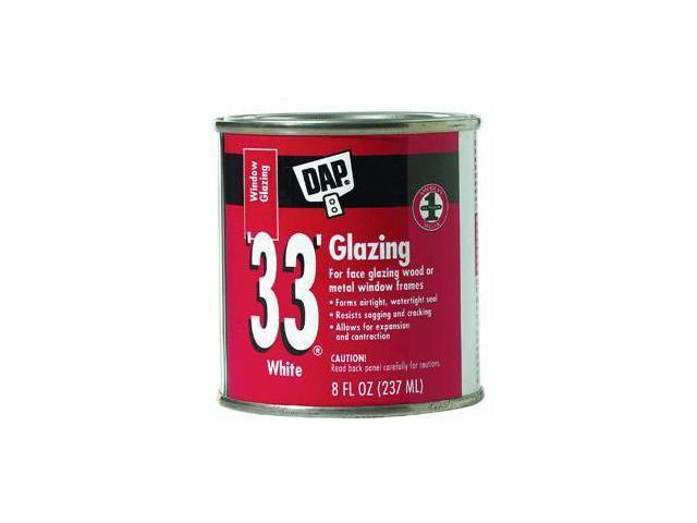 1/2Pt Wht Glazing Compound DAP INC Window Glazing Compound 12120 White