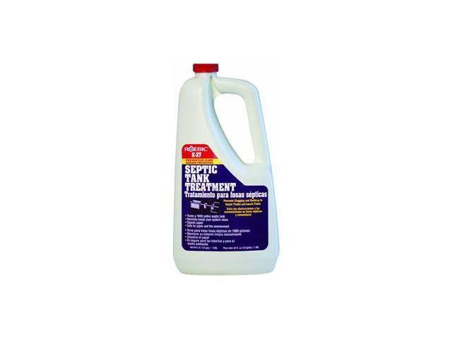 Septic Tank Treatment 1/2 GAL ROEBIC LABORATORIES Septic Tank Cleaner K-37-H