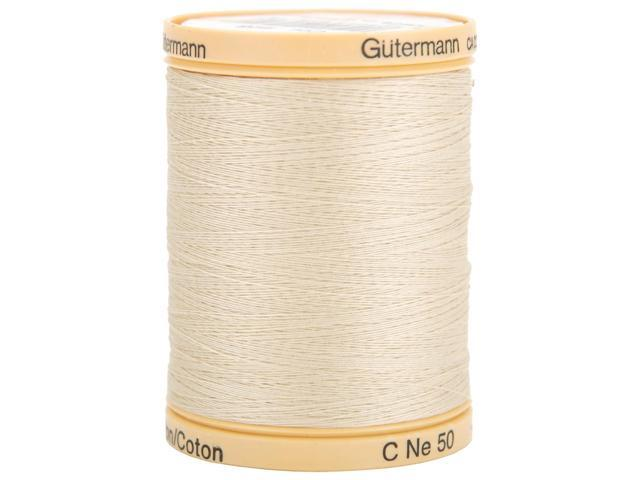 Natural Cotton Thread Solids 876 Yards-Oak Tan