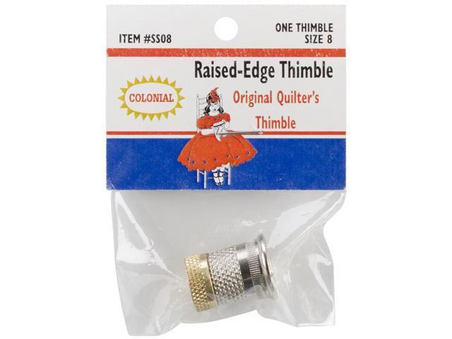 Raised-Edge Thimble-Size 8