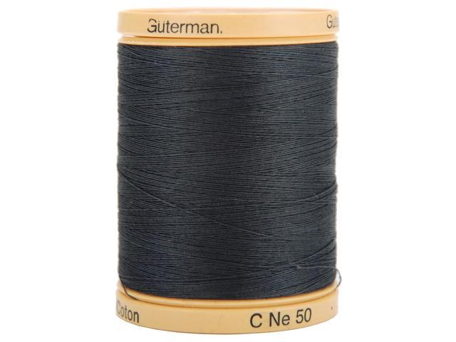 Natural Cotton Thread Solids 876 Yards-Iron Grey