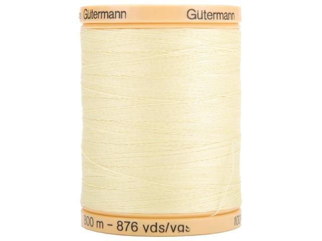 Natural Cotton Thread Solids 876 Yards-Butter Cream