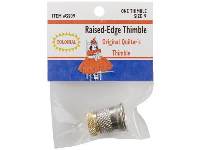 Raised-Edge Thimble-Size 9
