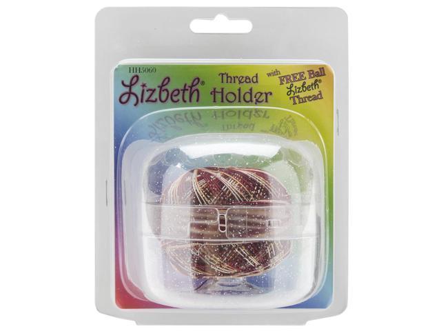 Handy Hands HH50-60 Lizbeth Thread Holder-Sparkle Clear