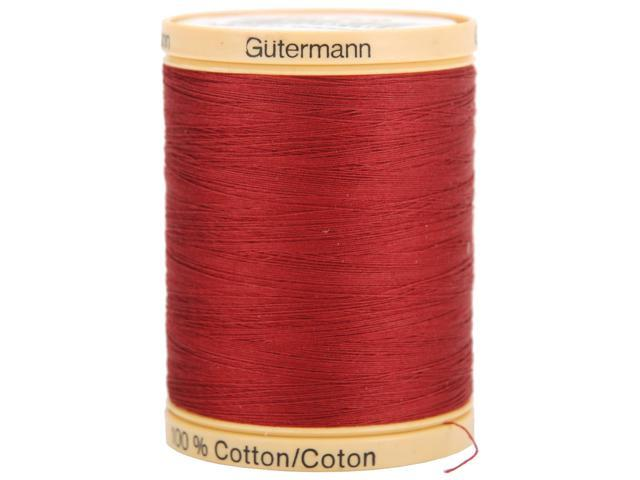 Natural Cotton Thread Solids 876 Yards-Raspberry