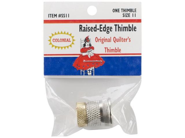Raised-Edge Thimble-Size 11