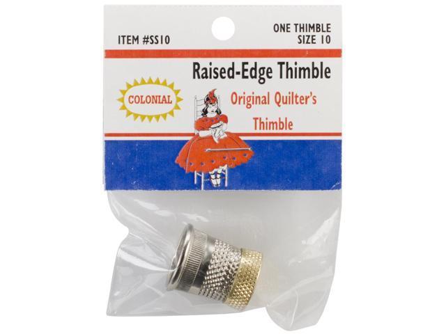 Raised-Edge Thimble-Size 10