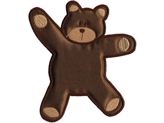 Wrights Especially Baby Iron-On Appliques-Brown Bear 4